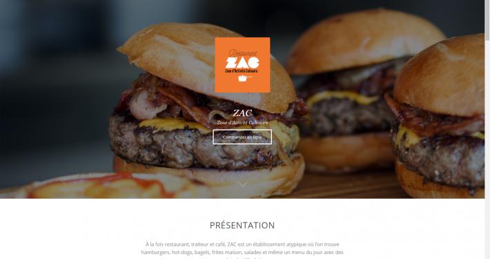 Site internet de la collaboration - Site du Zac