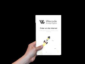 Couverture du livre blanc Wecode Créer son site internet
