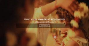 Arrivée sur la vidéo du site internet Etincelles